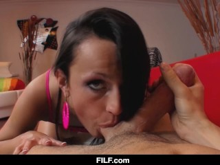 FILF – She Craves Her Step Brother's Dick