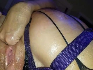my horny milf fisted her own ass