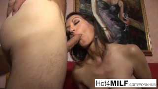 Preview 1 of MILF with big tits wants a facial
