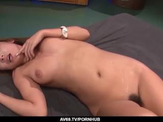 Japanese blowjob and heavy sex with Ryo Akanishi