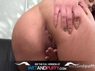 WetAndPuffy - Pink Dress Masturbation