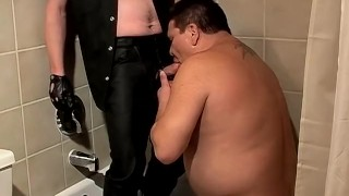 Chubby fucker Lycan gets pleasured by deviant twink Shadow Uncut big