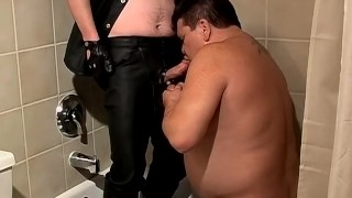 Chubby fucker Lycan gets pleasured by deviant twink Shadow Pantie riding