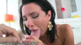 EvilAngel Veronica Avluv Ball Suck and Gape Fuck  ass fuck big tits lingerie erotic gaping mom blowjob big dick hardcore milf oily gape evilangel rough mother anal big boobs