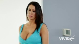 Vivid.com - Hot MILF comforts her stepson and gets fucked Ass big