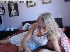 Cute blonde teen bedroom no nudity coconut_girl1991_040217 chaturbate REC
