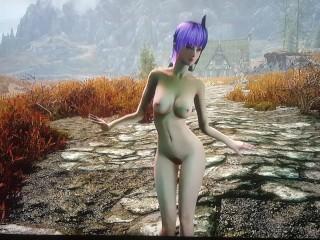Skyrim xbox one nude solo dance
