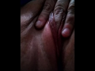 Fat Pussy With Dark Lips Fingering Small Hole..HURTS TO PUT FINGER INSIDE!!