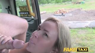 Taxi big gets british tits big natural fake mum with cock faketaxi tits
