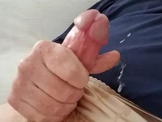 Jerk that cock!! Cum everywhere!