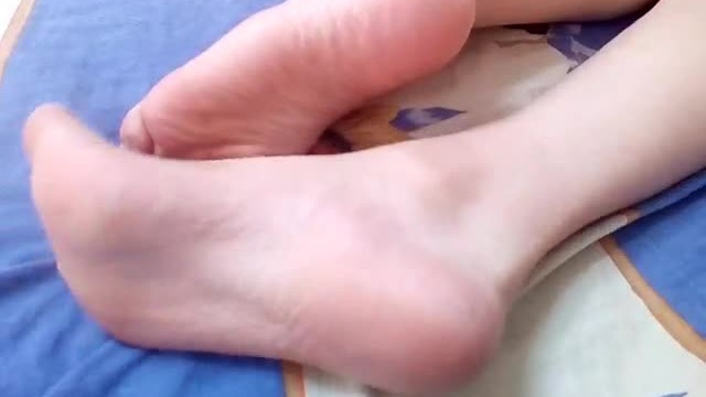 Girlfriend showing off her tiny magical feet