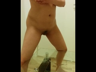 Norwegian piss play on glass table
