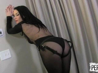 Veruca James is your daddy STRAP ON PANTYHOSE