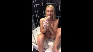 Up to orgasm ass all action oiled anal mouth anal stretching to plug