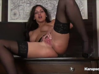 Preview 4 of Busty Milf Cassie Clarke Pussy Fingering