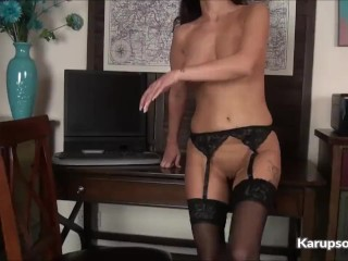 Preview 5 of Busty Milf Cassie Clarke Pussy Fingering
