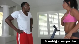Major fucks personal with trainer his rome cox bbc makayla yoga cock