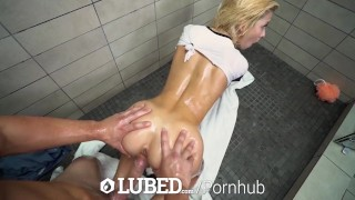 Facial lubed blonde reeves shower and tiny with fuck kenzie shower hardcore