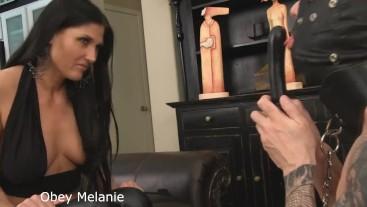 Melanie and orgasms