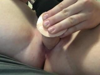 Amateur solo female masterbation