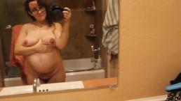 Madeline Bug's 2nd pregnancy 16 week belly