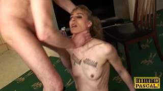 Brtish sub by facefucked bound bdsm maledom british roughsex