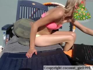 Hand under panties solo masturbation coconut_girl1991_291216 chaturbate REC