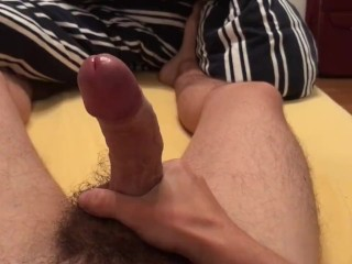 Cock play with Handsfree shot