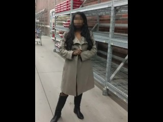 Risky Public Flashing In Walmart