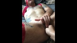 FTM Creampie Fisting - Cum as Lube!