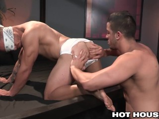 HotHouse Meaty Jock Blindfolded and Pounded by Stud