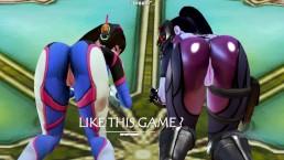 HS - D.VA & Widowmaker (Overwatch)