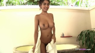 Squeeze my big sexy boobs  asian creampie big tits masturbation bangkok thai street fetish massage busty diary big naturals tittiporn thailand creaminess tuk tuk shaved pussy