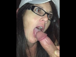 Babysitter is a Dirty little COCKSUCKER!!!