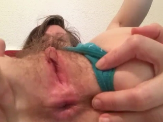 Close Up Pussy and Asshole Teasing