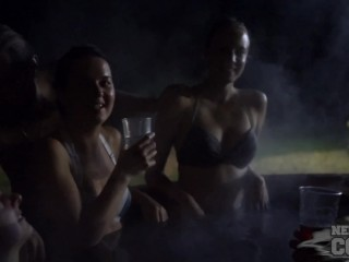 Spent the Summer in Europe, My end of summer party with hot girls exposed