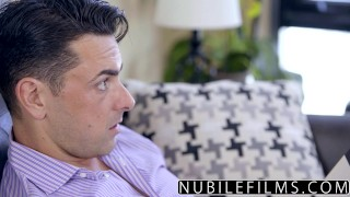 With step nubilefilms fuck page surprise dad kylie tits step