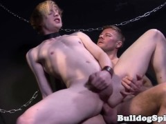 Hunky SM master seeds barebacked bottom twink