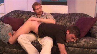 Step Father Disciplines Step Son - Lance Hart & Alex Adams