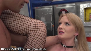 RoccoSiffredi Anal Threesome for Hungry Euro Babes