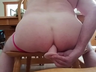 Afternoon delight up my ass!! Huge cumshot!
