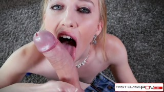 Riley Reyes loves sucking cock a huge cock, and it shows here