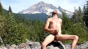 Andy Tate outdoors on a public hike