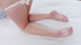 Pov booty jay's bailey perfect brooke round point reverse