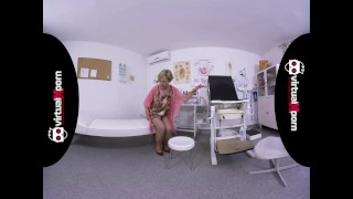 naughty blonde granny who waits for her doctor Tits stepsister