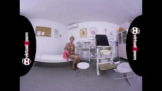 naughty blonde granny who waits for her doctor Natural pussy