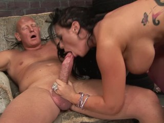 KERRY LOUISE LIKES TO SUCK AND FUCK MONSTER COCK