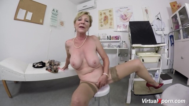 Mature porn elle denay - Hairy mom waiting for the doctor