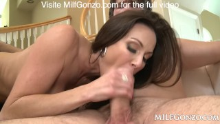MILFGonzo Kendra Lust has her pussy impaled by young stud Spanish bijou