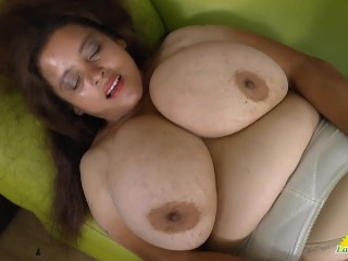 LatinChili Busty BBW Mature showoff Compilation